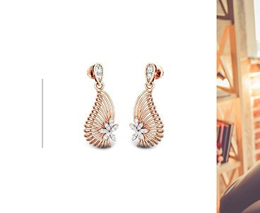 For her earrings online