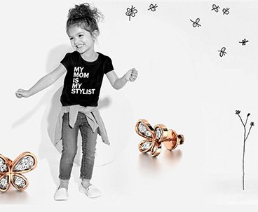 For kids gold pendants